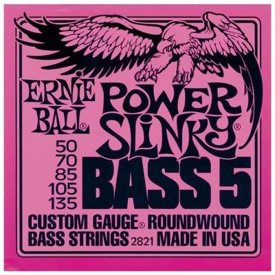 Ernie Ball 2821 RoundWound .050-.135 Power Slinky