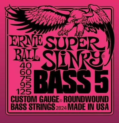 Ernie Ball 2824 RoundWound .040-.125 Super Slinky