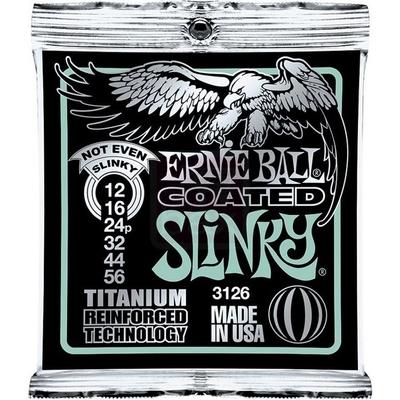 Ernie Ball 3126 Coated Titanium .012-.056 RPS Not Even Slinky