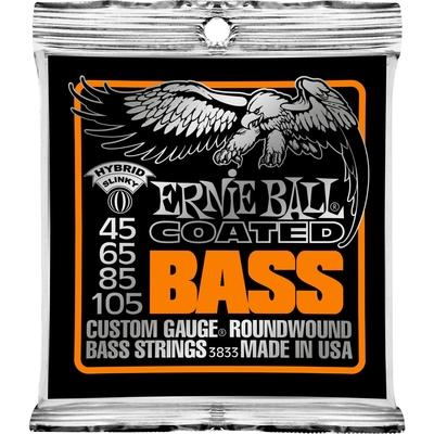 Ernie Ball 3833 Hybrid Slinky Coated 045-105