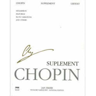 Supplements / Frédéric Chopin / PWM