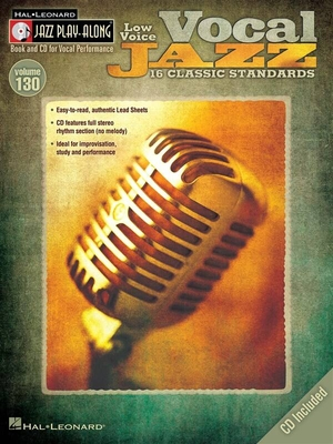 Jazz play along / Jazz Play-Along Volume 130: Vocal Jazz (Low Voice) /  / Hal Leonard