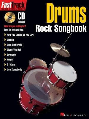 Fast Track Drums Rock Songbook /  / Hal Leonard