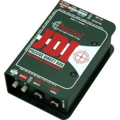 Radial JDI Passive DI box with Jensen transformer