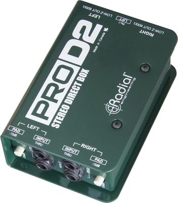 Radial Pro DII 2 ch. Passive direct box