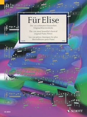 Fur Elise ( 100 Most Beautiful Classical Piano ) / Hans-Günter Heumann / Schott
