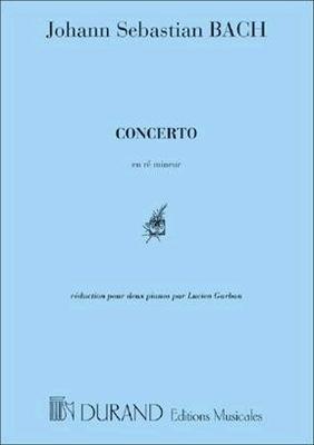 Concerto en Ré mineur BWV 1052 / Bach Johann Sebastian / Durand