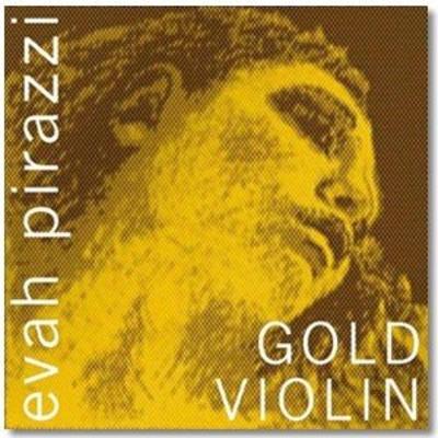 Pirastro Evah Pirazzi Gold Jeu 4/4 MI-E à boule et SOL-G or moyen sachet