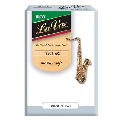 La Voz Saxophone ténor Medium Soft boîte de 10