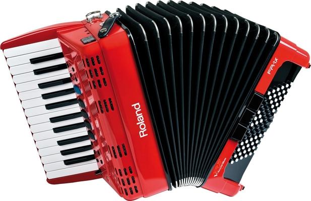 Roland FR-1x RD V-Accordéon rouge piano