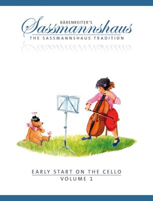 Bärenreiter's Sassmannshaus / Early Start 1  Egon Sassmannshaus  Cello Buch  BA8996 / Egon Sassmannshaus / Bärenreiter