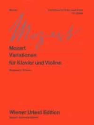 Wiener Urtext Edition / Variazioni (Marguerre/Kremer)  Wolfgang Amadeus Mozart / Wolfgang Amadeus Mozart / Wiener Urtext