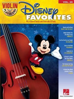 Disney FavoritesViolin Play-Along Volume 29 /  / Hal Leonard
