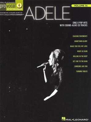 Pro Vocal / Pro Vocal Volume 56: Adele / Adele (Artist) / Hal Leonard