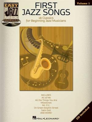 Easy Jazz Play-Along / Easy Jazz Play-Along Volume 1: First Jazz Songs /  / Hal Leonard