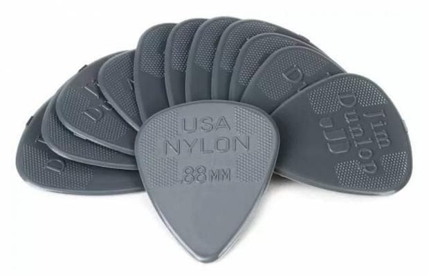 Dunlop 44P.88 Nylon Standard 88mm Sachet De 12