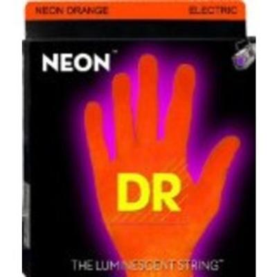 DR Strings NOE-11 11-50 neon hidef Orange coated