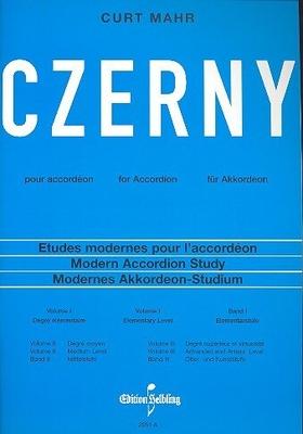 Czerny für AkkordeonEtudes 1 (Mahr) / Carl Czerny Mahr Curt / Helbling