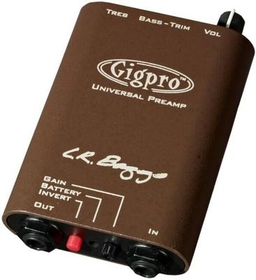 L.R. Baggs GIGPRO, Single Channel Beltclip Preamp
