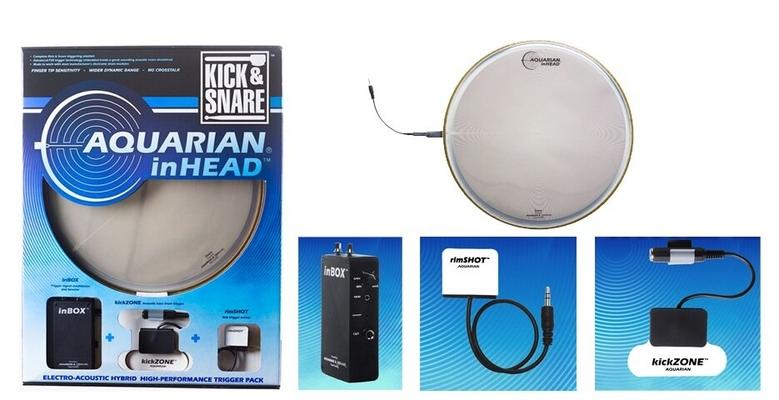 Aquarian 14IHPK inHead pack snare 14» + kick