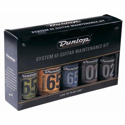 Dunlop 6500 System 65 Guitar Maintenance Kit (5 pieces)