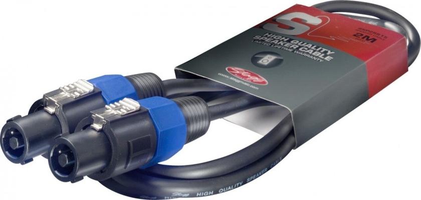 Stagg xsp1,5ss15 Câble hp speackon / speackon 1.5m