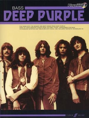 Authentic Playalong: Deep Purple (Bass) / Deep Purple (Artist) / Faber Music
