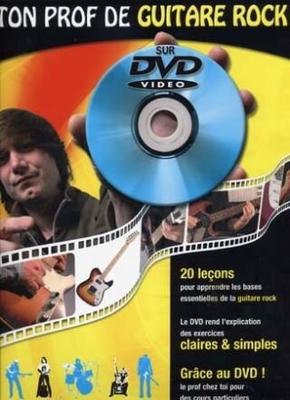 Ton prof de guitare rock avec DVD / Jean-Claude Doletina / Julien Roux / ID Music