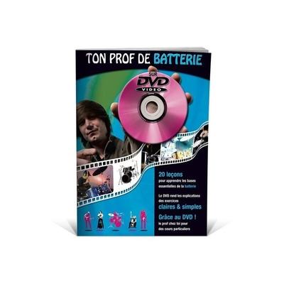 Ton prof de batterie avec DVD / Jean-Claude Doletina / Julien Roux / ID Music