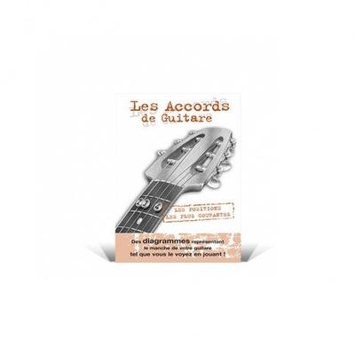 Mini Dictionnaire Les Accords de Guitare /  / Editions Coup de pouce