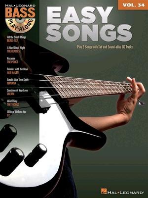 Bass Play-Along Volume 34: Easy Songs /  / Hal Leonard
