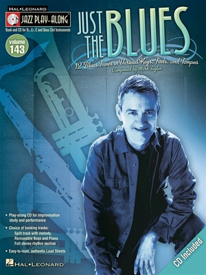 Jazz Play-Along Volume 143: Just The Blues / Taylor, Mark (Composer) / Hal Leonard
