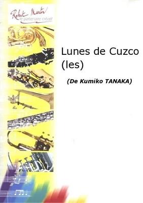 Les Lunes de Cuzco  Kumiko Tanaka  Flöte und Klavier Buch  TANA03635 / Tanaka Kumiko / Robert Martin