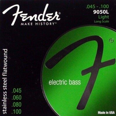 Fender 9050L El. Bass Stainless Flatwound .045-.100 Long Sc. Light