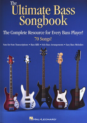 HL00701946 The Ultimate Bass Songbook /  / Hal Leonard