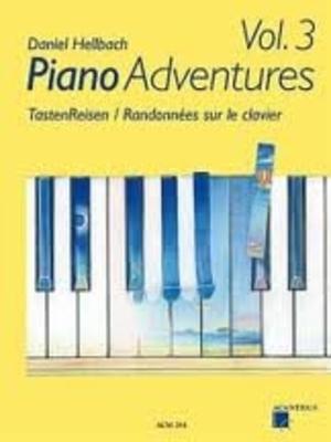 Piano Adventures vol. 3 / Hellbach Daniel / Acanthus