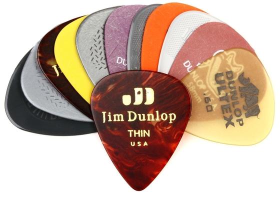 Dunlop PVP101 Variety Pack Light/Medium Sachet De 12