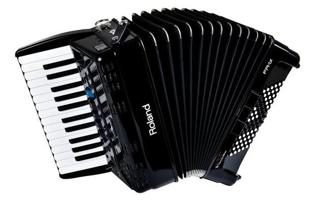 Roland FR-1x BK V-Accordéon noir piano