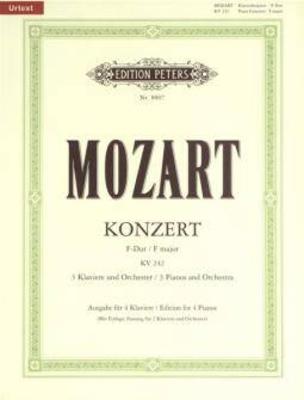 Konzert No 13 / Mozart / Peters