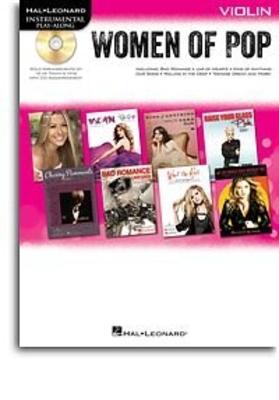 Women of Pop – Violin Instrumental Play-Along Violin Buch + CD /  / Hal Leonard