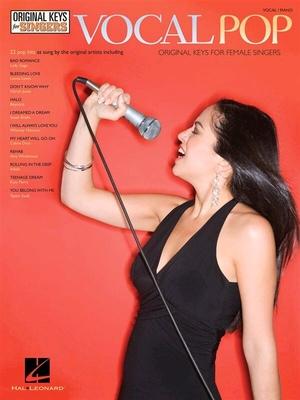 Vocal Pop, Original Keys For Singers /  / Hal Leonard