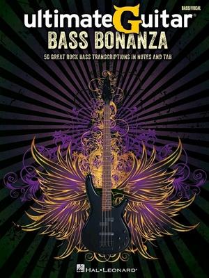 HL00691173 UltimateGuitar: Bass Bonanza /  / Hal Leonard