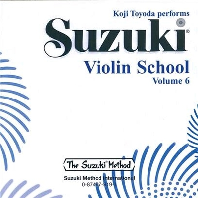Suzuki Violin School vol. 6 le CD / Suzuki Shinichi / Alfred Publishing