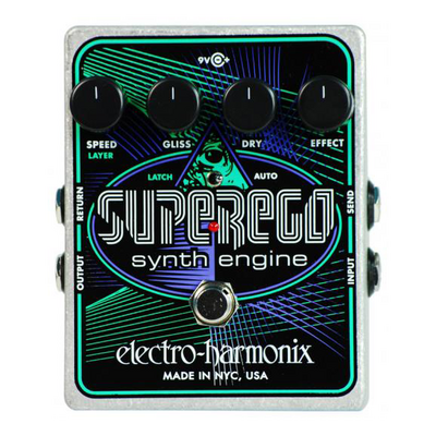 Electro-Harmonix SuperEgo Synth Engine