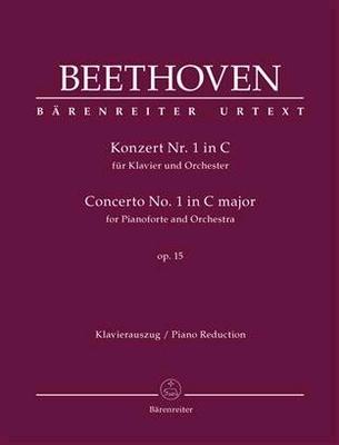 Concerto n1 en do majeur opus 15 / Ludwig van Beethoven Jonathan Del Mar / Bärenreiter
