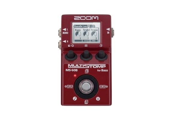 Zoom MS-60B Multi stomp FX Basse
