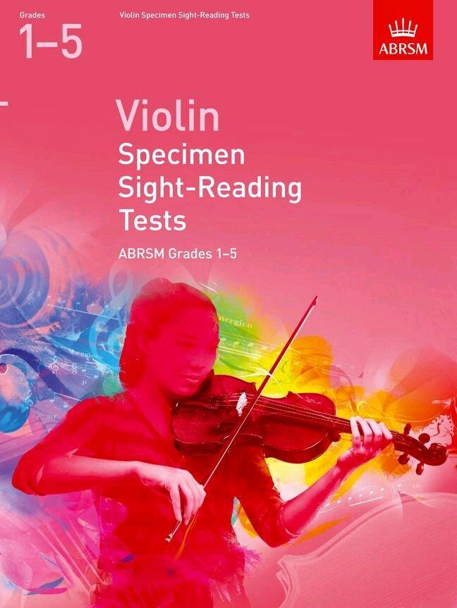 Violin Specimen Sight-Reading Tests, Grades 15 from 2012   Violin /  / ABRSM : photo 1