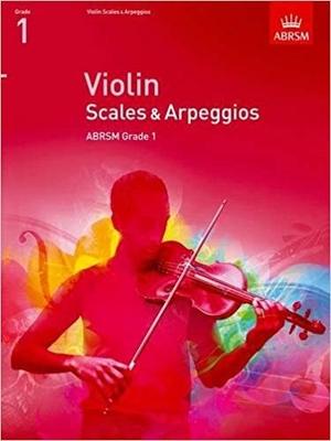 Scales & Arpeggios Grade 1 Violin /  / ABRSM