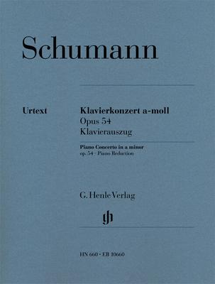 Henle Urtext Editions / Concerto pour piano Schumann Piano Concerto In A Minor Op.54 / Robert Schumann / Henle