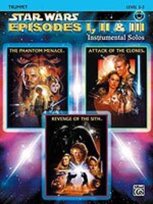 Star Wars: Episode 1 2 & 3 Instr. Solos + CD /  / Alfred Publishing